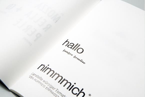 Letterpress - Fadenheftung - Formfleischvorderschinken