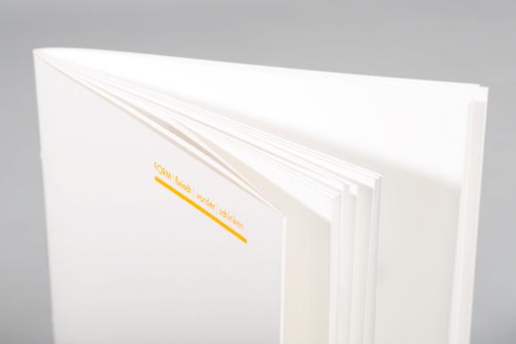 Editorial Design - Titel - Prägung - Buchbinden - Formfleischvorderschinken