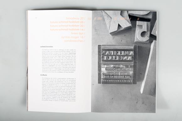 Editorial Design - Bleisatz - Werkstatt - Formfleischvorderschinken