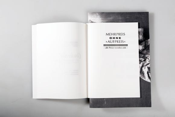 Editorial Design - Fadenheftung - beide Hefte - Formfleischvorderschinken