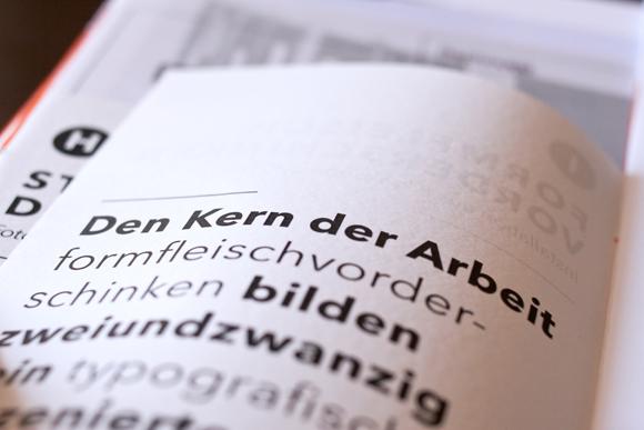 Typografie - Detail - Editorial Design - Kunst - Ausstellungskatalog - a2