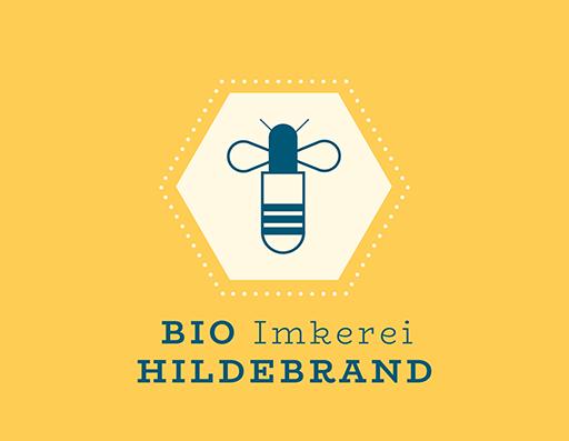 Bio Honig Etiketten Logo Biene